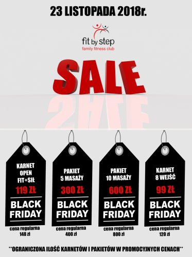 BLACK FRIDAY W FIT BY STEP